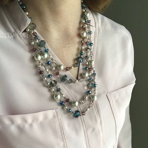 Jewelry - Beautiful multi layered necklace